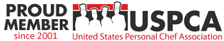 Member US Personal Chef Association since 2001